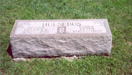 HULSEBUS, PETER - Shelby County, Iowa   PETER HULSEBUS