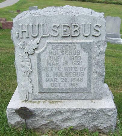 HULSEBUS, REXTE - Shelby County, Iowa | REXTE HULSEBUS