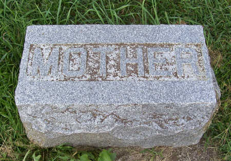 HULSEBUS, REXTE (MOTHER) - Shelby County, Iowa   REXTE (MOTHER) HULSEBUS