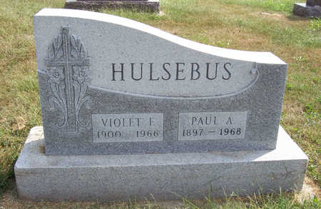 HULSEBUS, VIOLET F. - Shelby County, Iowa | VIOLET F. HULSEBUS