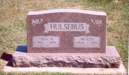 HULSEBUS, WESLEY - Shelby County, Iowa | WESLEY HULSEBUS