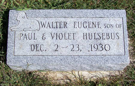 HULSEBUS, WALTER EUGENE - Shelby County, Iowa | WALTER EUGENE HULSEBUS