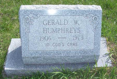 HUMPHREYS, GERALD W. - Shelby County, Iowa   GERALD W. HUMPHREYS