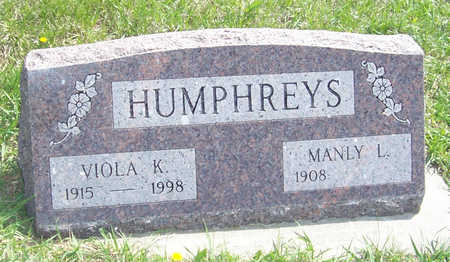 HUMPHREYS, MANLY L. - Shelby County, Iowa | MANLY L. HUMPHREYS