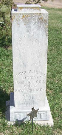 HUNT, JOHN B. - Shelby County, Iowa | JOHN B. HUNT