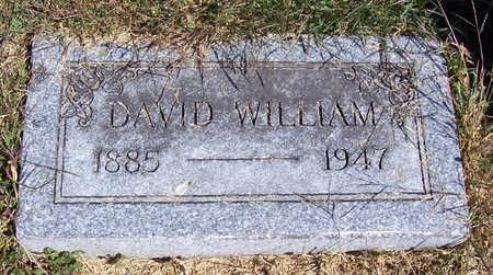 HUNTER, DAVID WILLIAM - Shelby County, Iowa | DAVID WILLIAM HUNTER