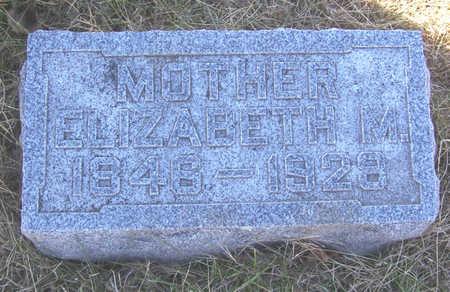 ICKES, ELIZABETH M. (MOTHER) - Shelby County, Iowa | ELIZABETH M. (MOTHER) ICKES