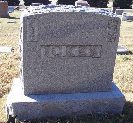 ICKES, GEORGE W. (LOT) - Shelby County, Iowa | GEORGE W. (LOT) ICKES