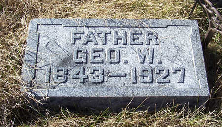ICKES, GEORGE W. (FATHER) - Shelby County, Iowa | GEORGE W. (FATHER) ICKES