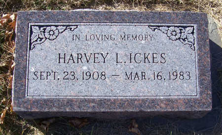 ICKES, HARVEY L. - Shelby County, Iowa | HARVEY L. ICKES