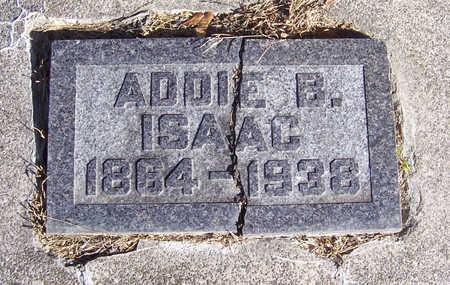 ISAAC, ADDIE B. (CLOSE-UP) - Shelby County, Iowa | ADDIE B. (CLOSE-UP) ISAAC