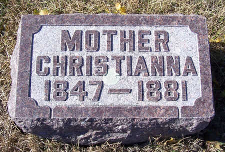 IVERS, CHRISTIANNA (MOTHER) - Shelby County, Iowa   CHRISTIANNA (MOTHER) IVERS