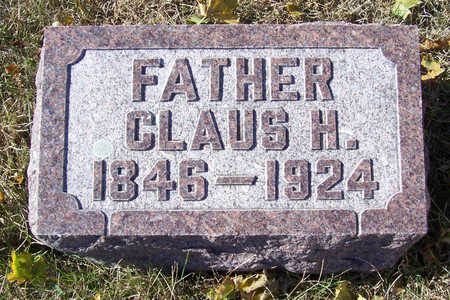 IVERS, CLAUS H. (FATHER) - Shelby County, Iowa | CLAUS H. (FATHER) IVERS