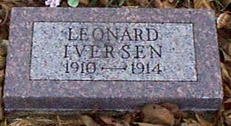 IVERSEN, LEONARD - Shelby County, Iowa | LEONARD IVERSEN