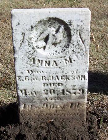 JACKSON, ANNA M. - Shelby County, Iowa | ANNA M. JACKSON