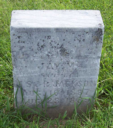 JACKSON, JAY M. - Shelby County, Iowa   JAY M. JACKSON