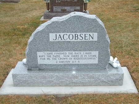JACOBSEN, DEAN WARREN - Shelby County, Iowa   DEAN WARREN JACOBSEN