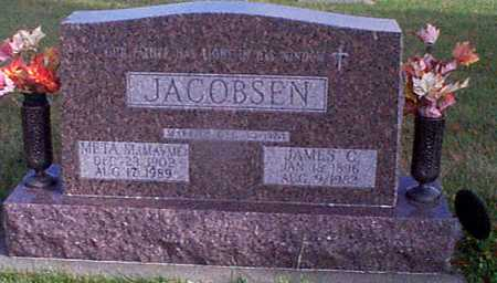 JACOBSEN, JAMES C - Shelby County, Iowa | JAMES C JACOBSEN