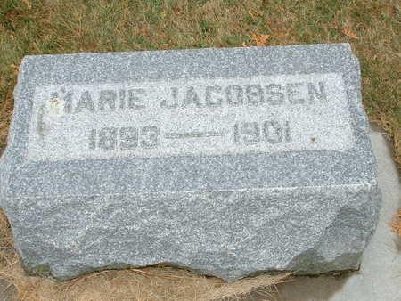 JACOBSEN, MARIE - Shelby County, Iowa | MARIE JACOBSEN
