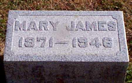 JAMES, MARY - Shelby County, Iowa   MARY JAMES