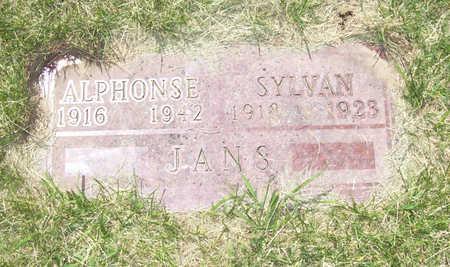 JANS, ALPHONSE - Shelby County, Iowa   ALPHONSE JANS
