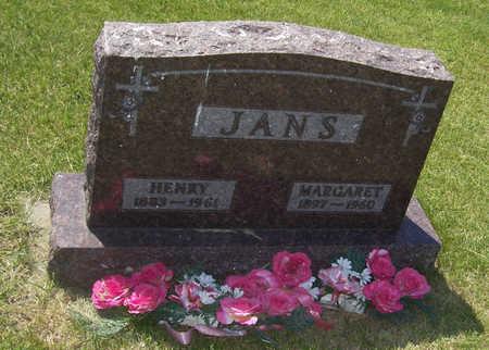 JANS, MARGARET - Shelby County, Iowa | MARGARET JANS
