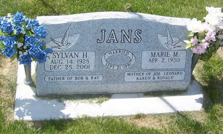 JANS, SYLVAN H. - Shelby County, Iowa   SYLVAN H. JANS