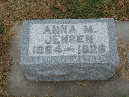JENSEN, ANNA M - Shelby County, Iowa | ANNA M JENSEN