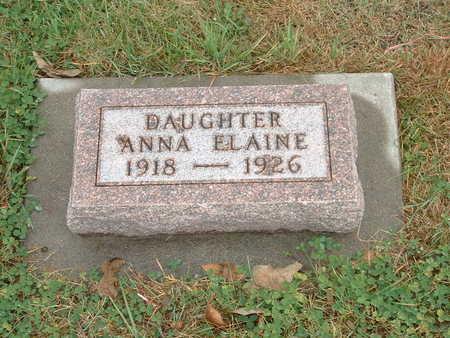 JENSEN, ANNA ELAINE - Shelby County, Iowa | ANNA ELAINE JENSEN
