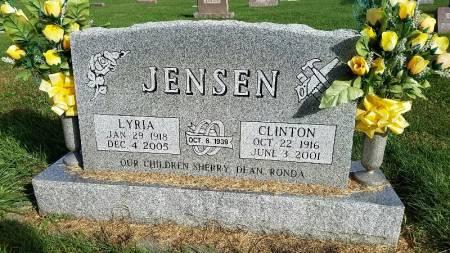 CLAUSEN JENSEN, LYRIA - Shelby County, Iowa | LYRIA CLAUSEN JENSEN