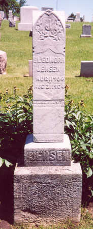JENSEN, ELEONORA - Shelby County, Iowa   ELEONORA JENSEN
