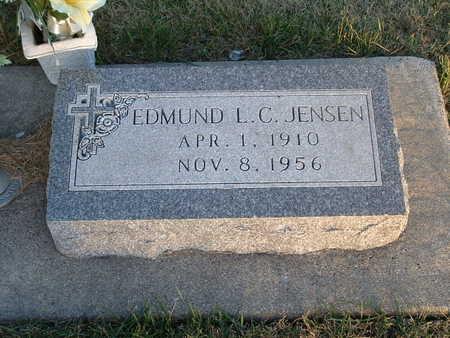 JENSEN, EDMUND L C - Shelby County, Iowa | EDMUND L C JENSEN