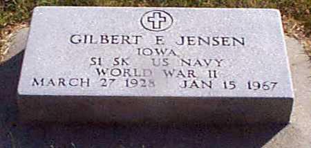 JENSEN, GILBERT  E - Shelby County, Iowa | GILBERT  E JENSEN