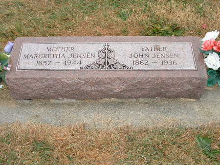 JENSEN, MARGRETHA - Shelby County, Iowa | MARGRETHA JENSEN