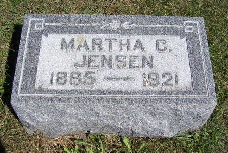 JENSEN, MARTHA C. - Shelby County, Iowa   MARTHA C. JENSEN