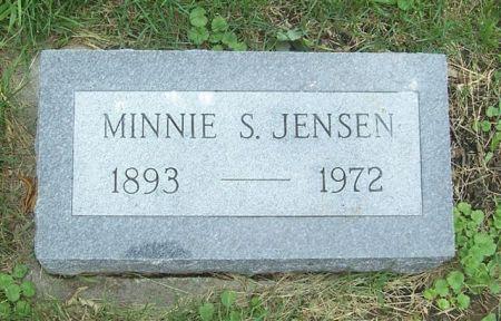 JENSEN, MINNIE S. - Shelby County, Iowa | MINNIE S. JENSEN