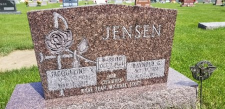 JENSEN, RAYNOLD G - Shelby County, Iowa | RAYNOLD G JENSEN