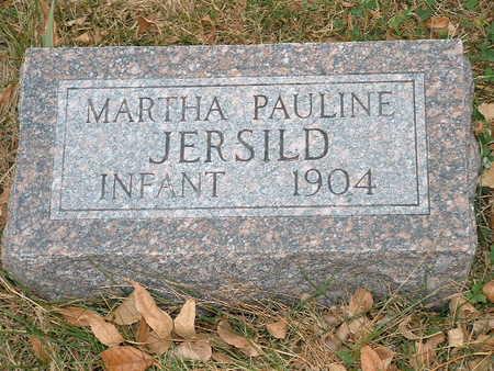 JERSILD, MARTHA PAULINE - Shelby County, Iowa   MARTHA PAULINE JERSILD