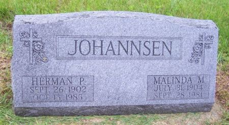 JOHANNSEN, MALINDA M. - Shelby County, Iowa | MALINDA M. JOHANNSEN