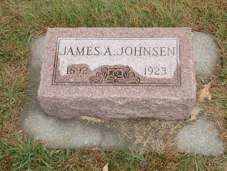 JOHNSEN, JAMES A - Shelby County, Iowa   JAMES A JOHNSEN