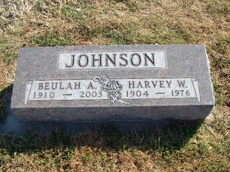 JOHNSON, BEULAH A - Shelby County, Iowa | BEULAH A JOHNSON