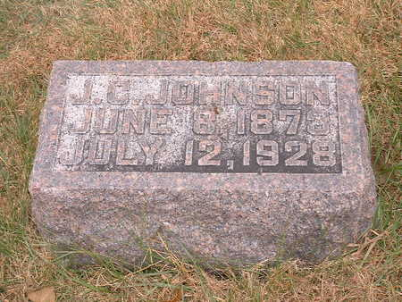 JOHNSON, J CLIFFORD - Shelby County, Iowa | J CLIFFORD JOHNSON