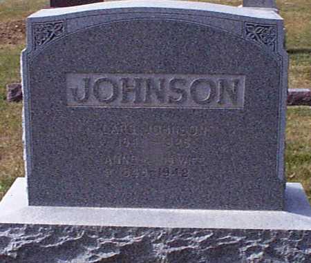 JOHNSON, ANNA KRISTINE BILLIE - Shelby County, Iowa | ANNA KRISTINE BILLIE JOHNSON