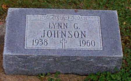 JOHNSON, LYNN G - Shelby County, Iowa | LYNN G JOHNSON