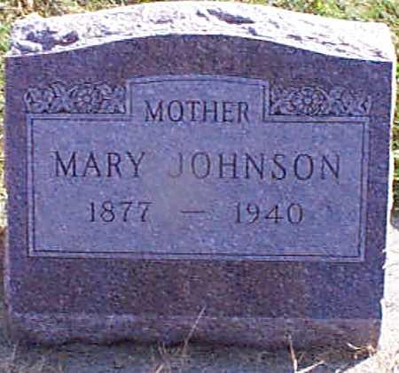 JOHNSON, MARY - Shelby County, Iowa | MARY JOHNSON