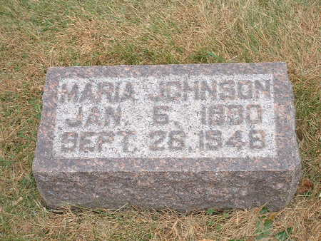 JOHNSON, MARIA - Shelby County, Iowa | MARIA JOHNSON