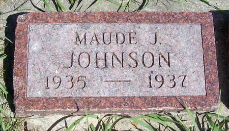 JOHNSON, MAUDE J. - Shelby County, Iowa | MAUDE J. JOHNSON