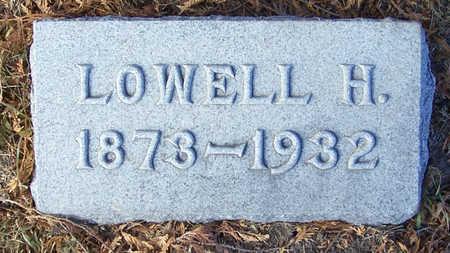JONES, LOWELL H. - Shelby County, Iowa   LOWELL H. JONES