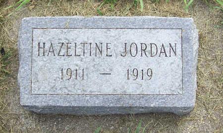 JORDAN, HAZELTINE - Shelby County, Iowa | HAZELTINE JORDAN