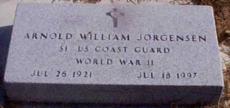 JORGENSEN, ARNOLD WILLIAM - Shelby County, Iowa | ARNOLD WILLIAM JORGENSEN